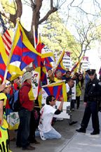 tibet protest March 2008